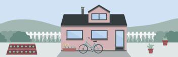 Ein Tiny House auf festem Grund (fix mit dem Untergrund verbaut)