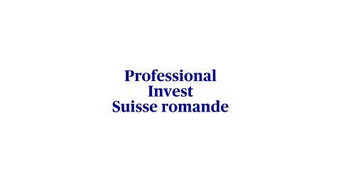 Informations sur la solution de prévoyance ProfessionalInvest Suisse romande