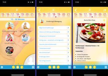 Screenshot dell'app Kind & Essen