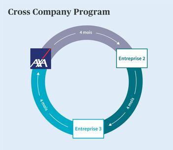 Déroulement du Cross Company Program